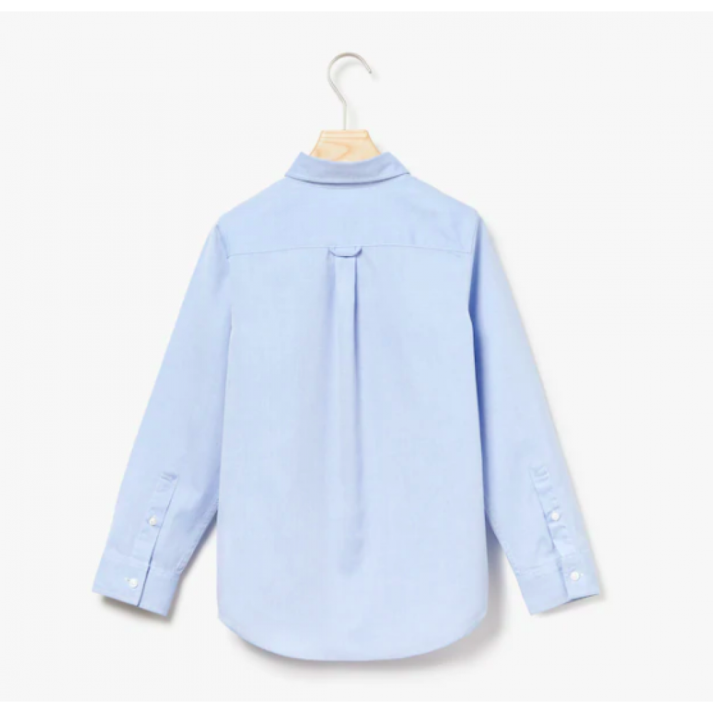 Lacoste skjorte, lyseblå-01