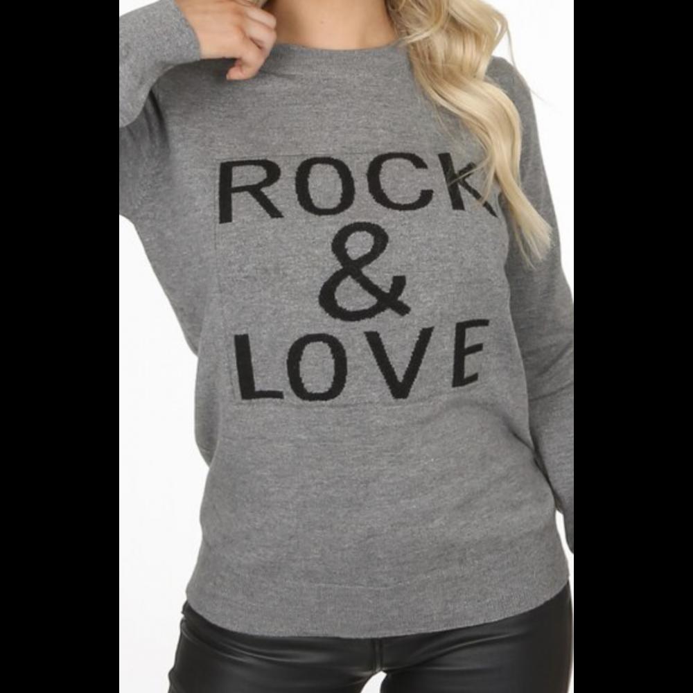 RockLoveSloganRibbedJumperGrey-01