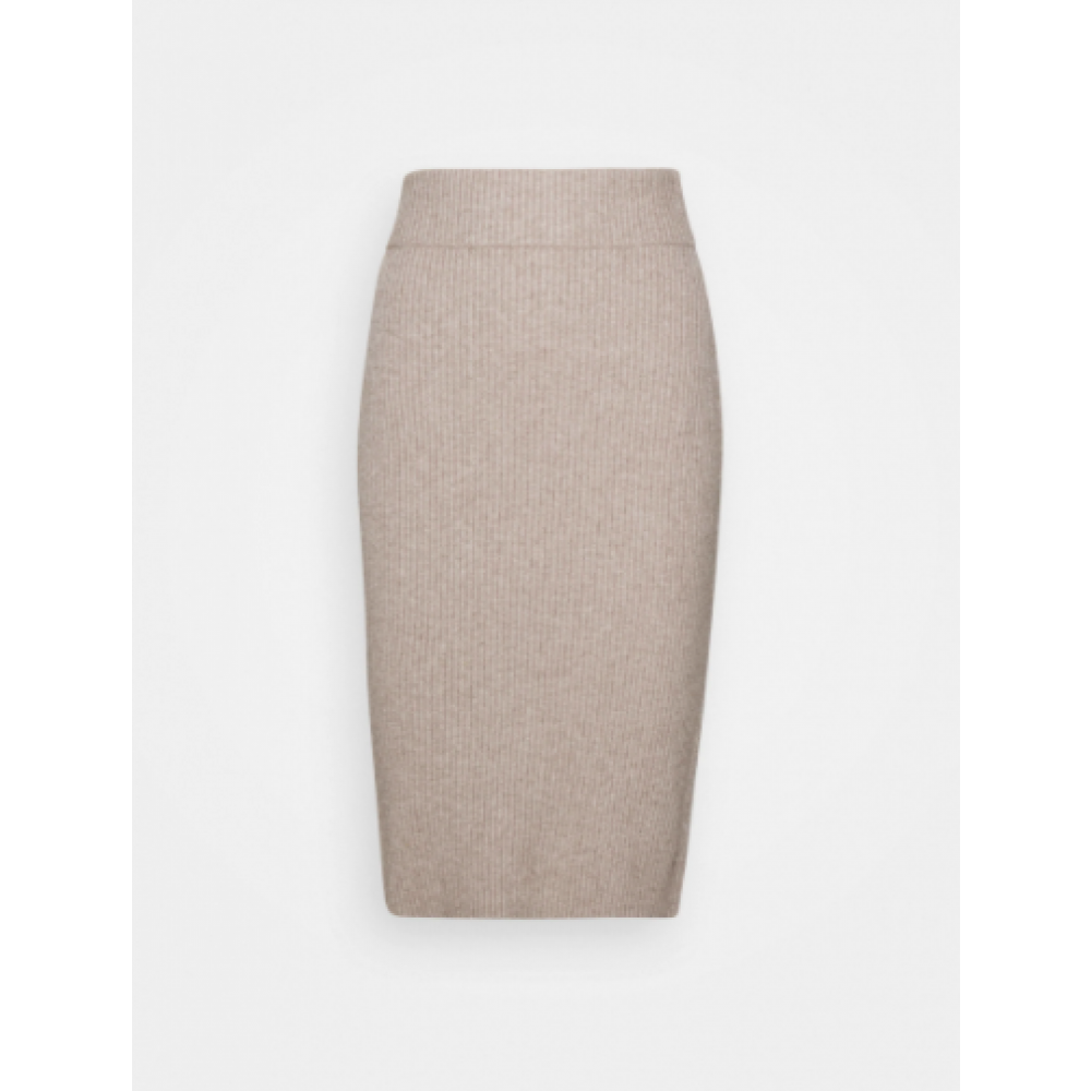 Viril Pencil HW Knit Skirt