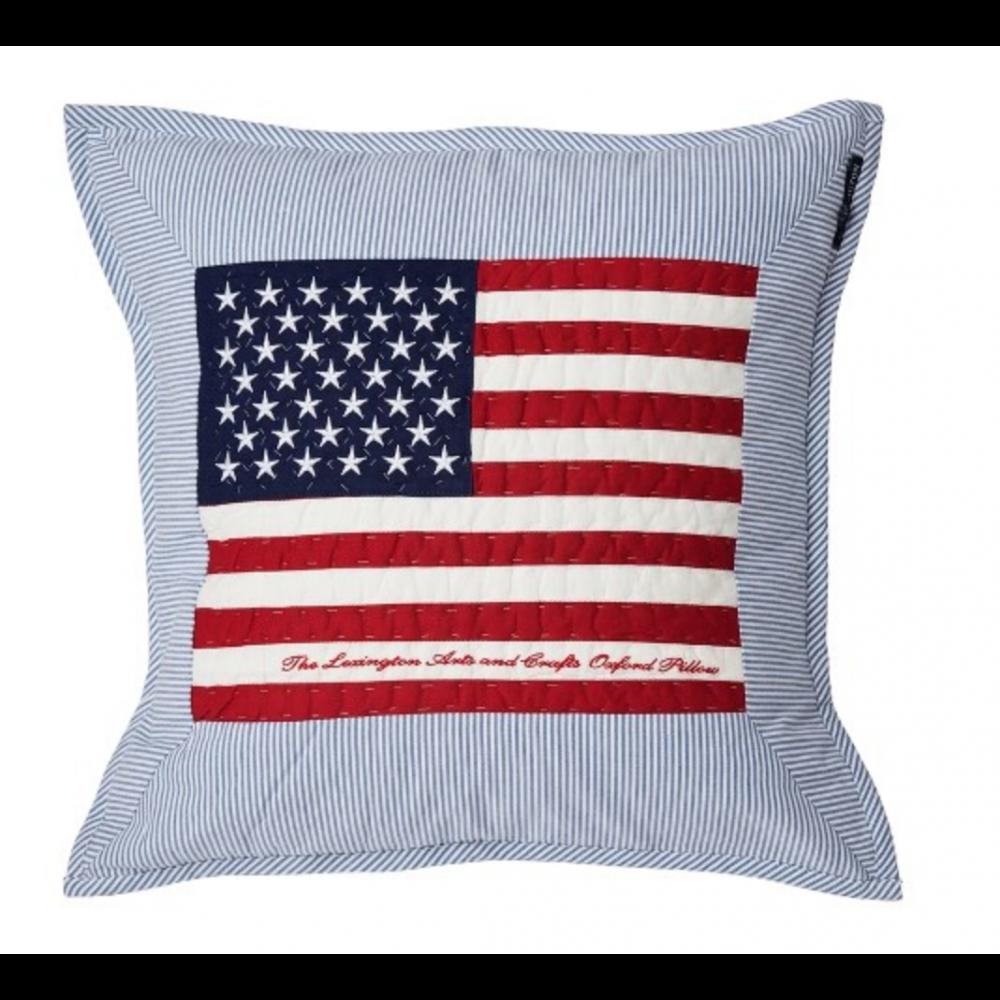 Lexington Flag Arts & Crafts Sham, Blue/White