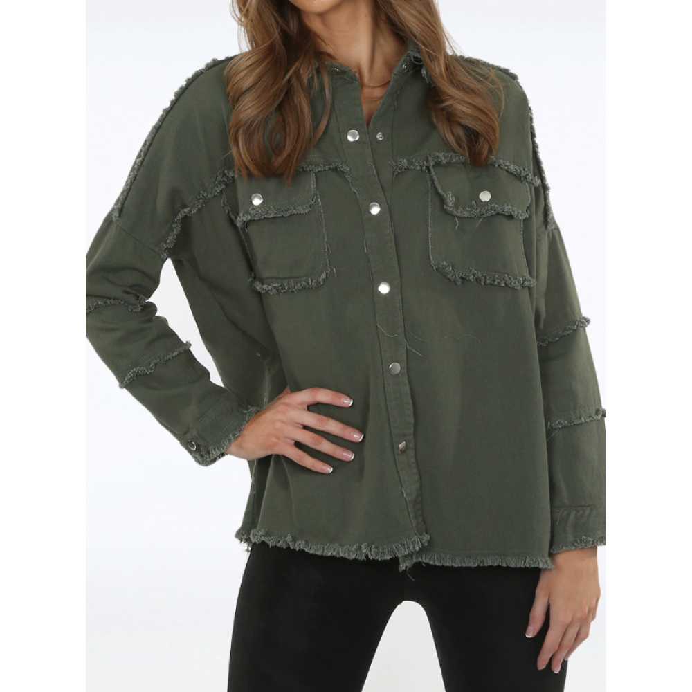 Rock and Roll jackets, Army-01