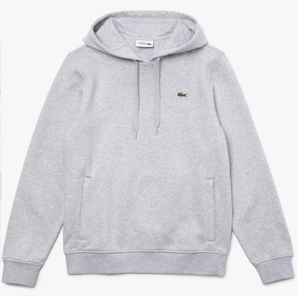 Men's Lacoste Sport Hooded Fleece Sweatshirt