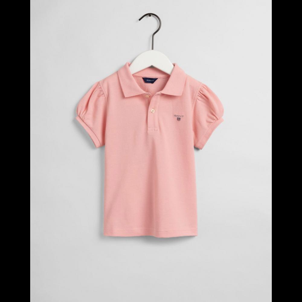 Original puff sleeve ss pique - quartz pink
