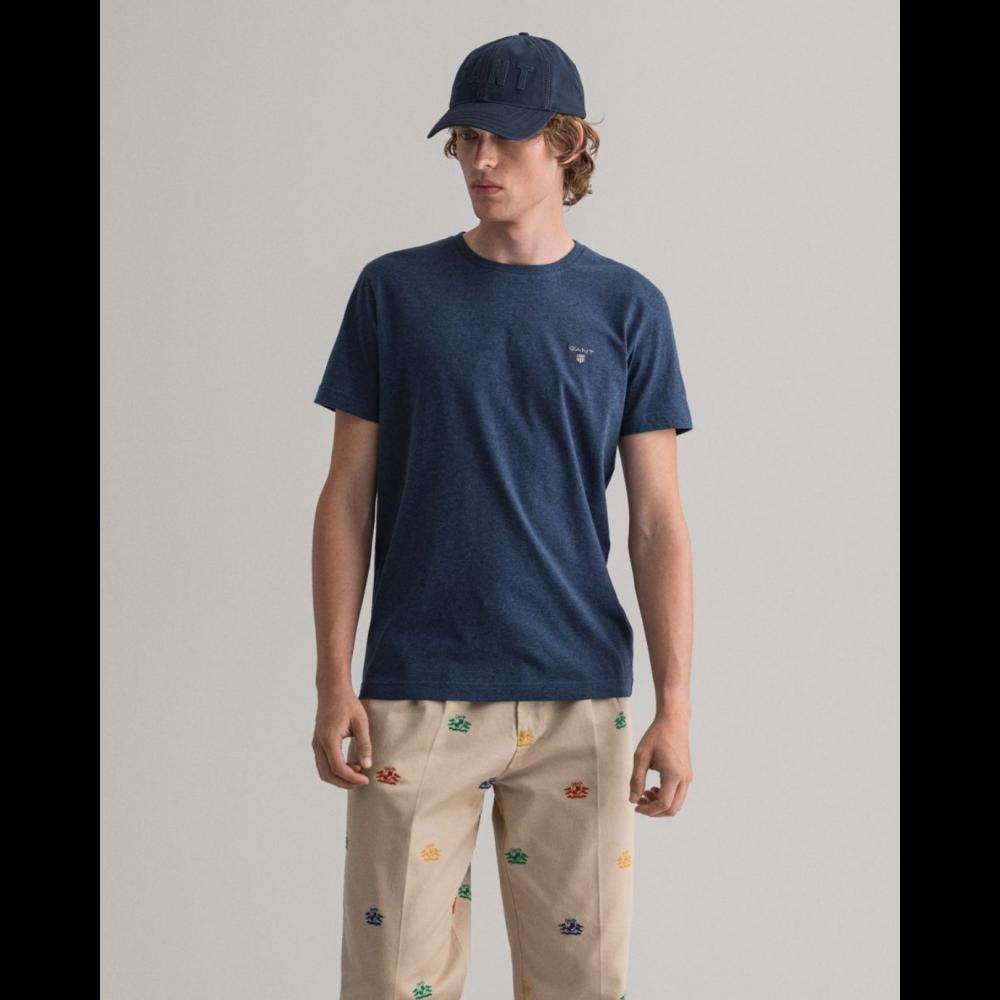 Original ss t-shirt - marine melange