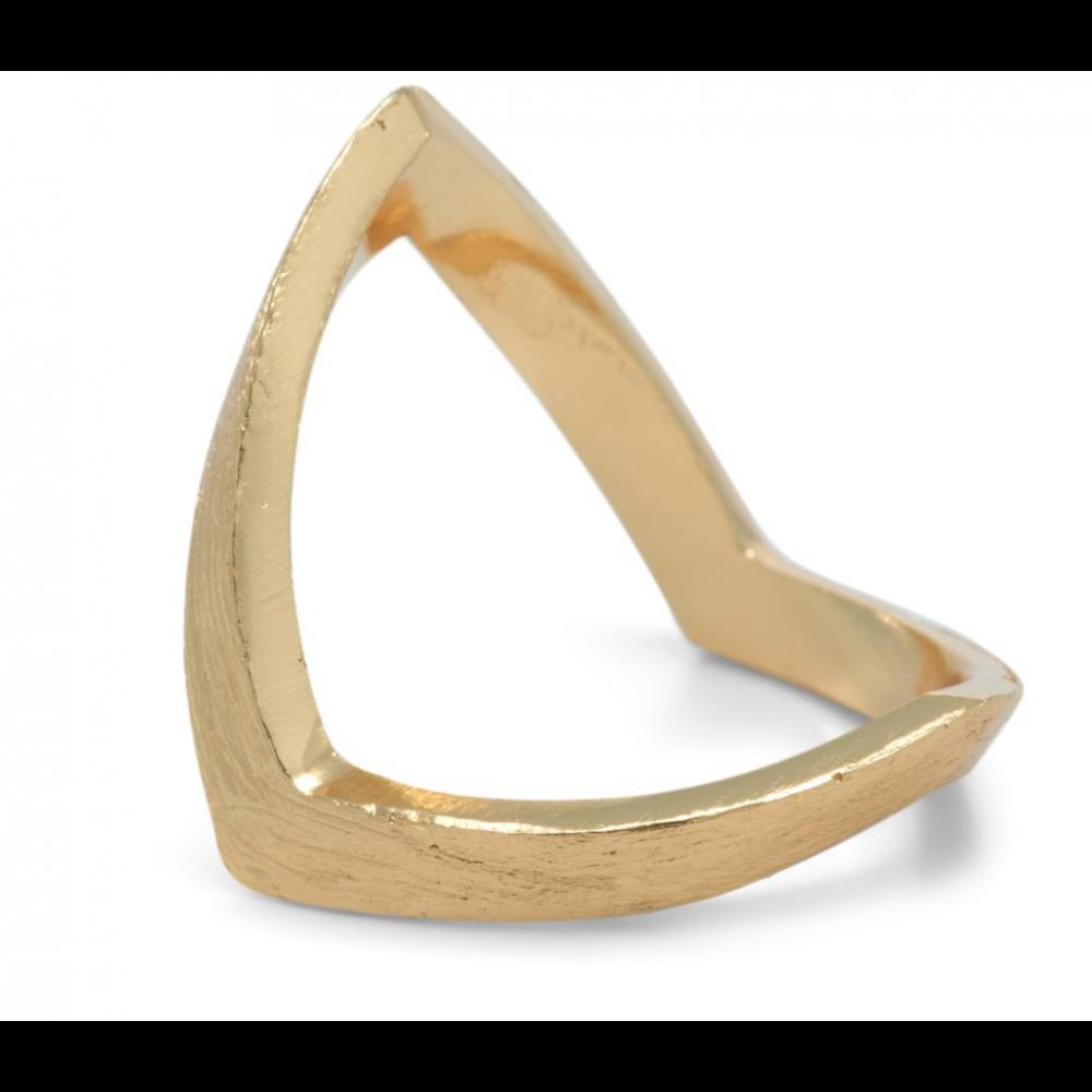 V-ring i guld