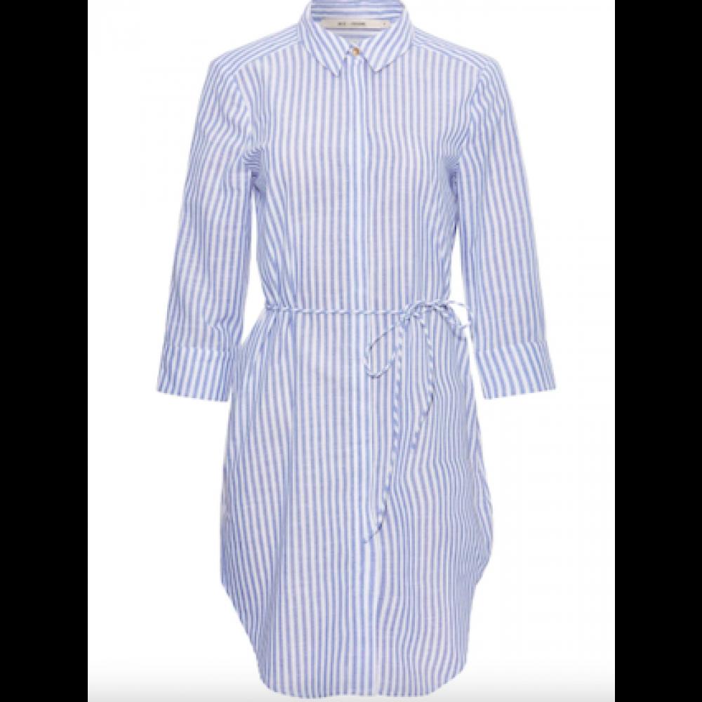 Lulu shirt dress - blue