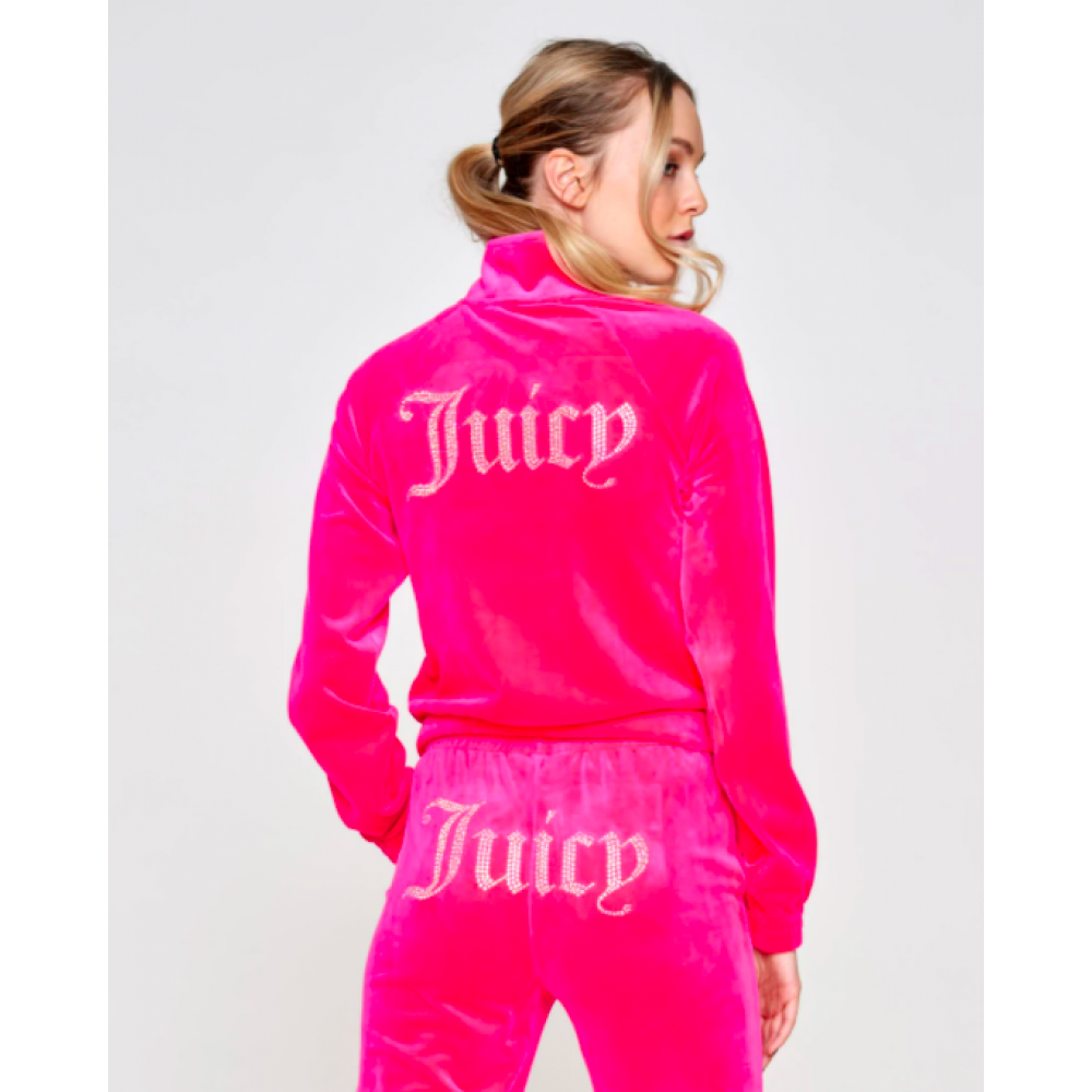 SS21 Juicy couture - Tanya track top - pink glo