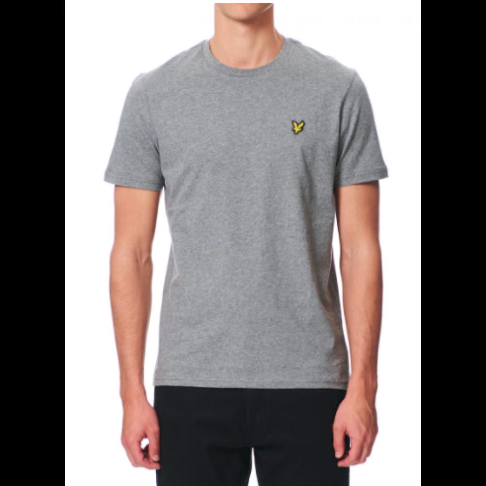 Crew neck t-shirt - mid grey mari