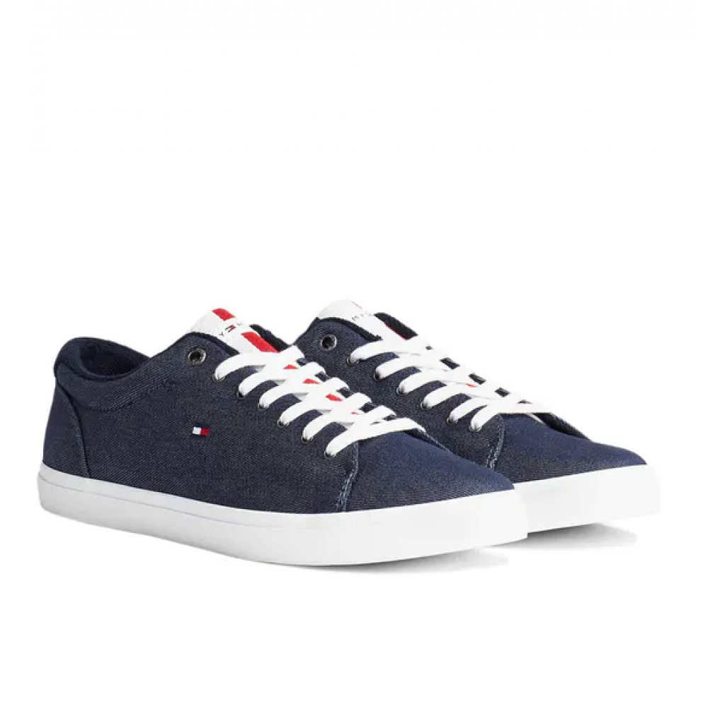 Essential chambray vulcanized - yale navy