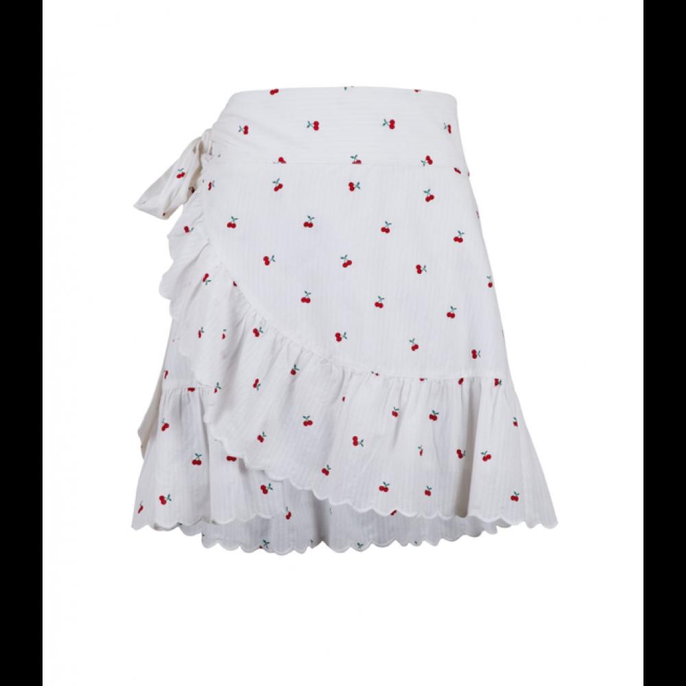 Chrissy cherry skirt