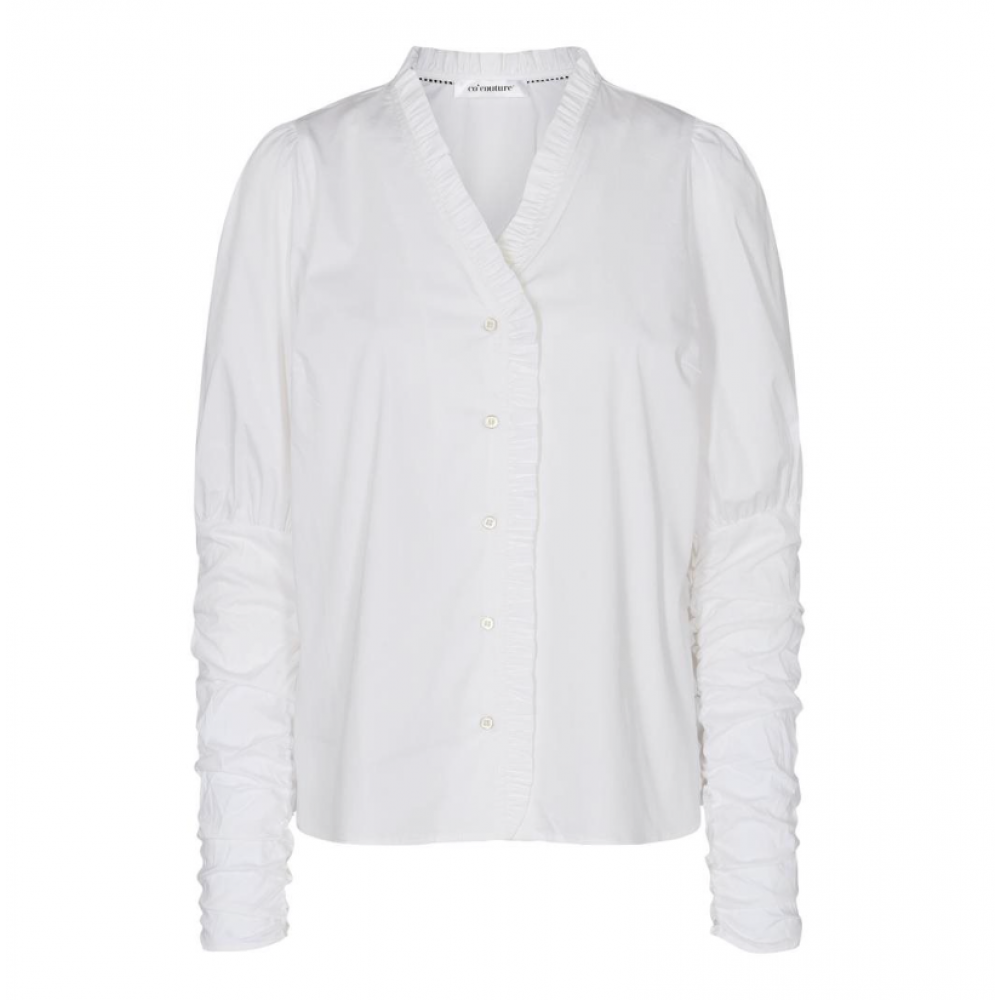 Co´ Couture Sandy V-Frill Shirt