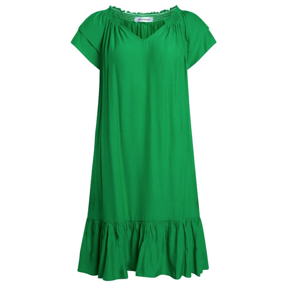 Sunrise cropped dress kort - green