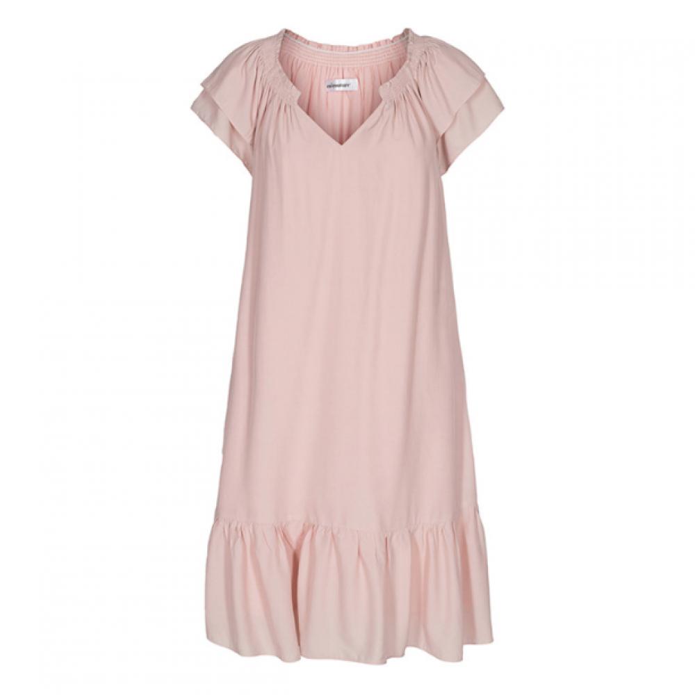Sunrise crop dress - nude rose