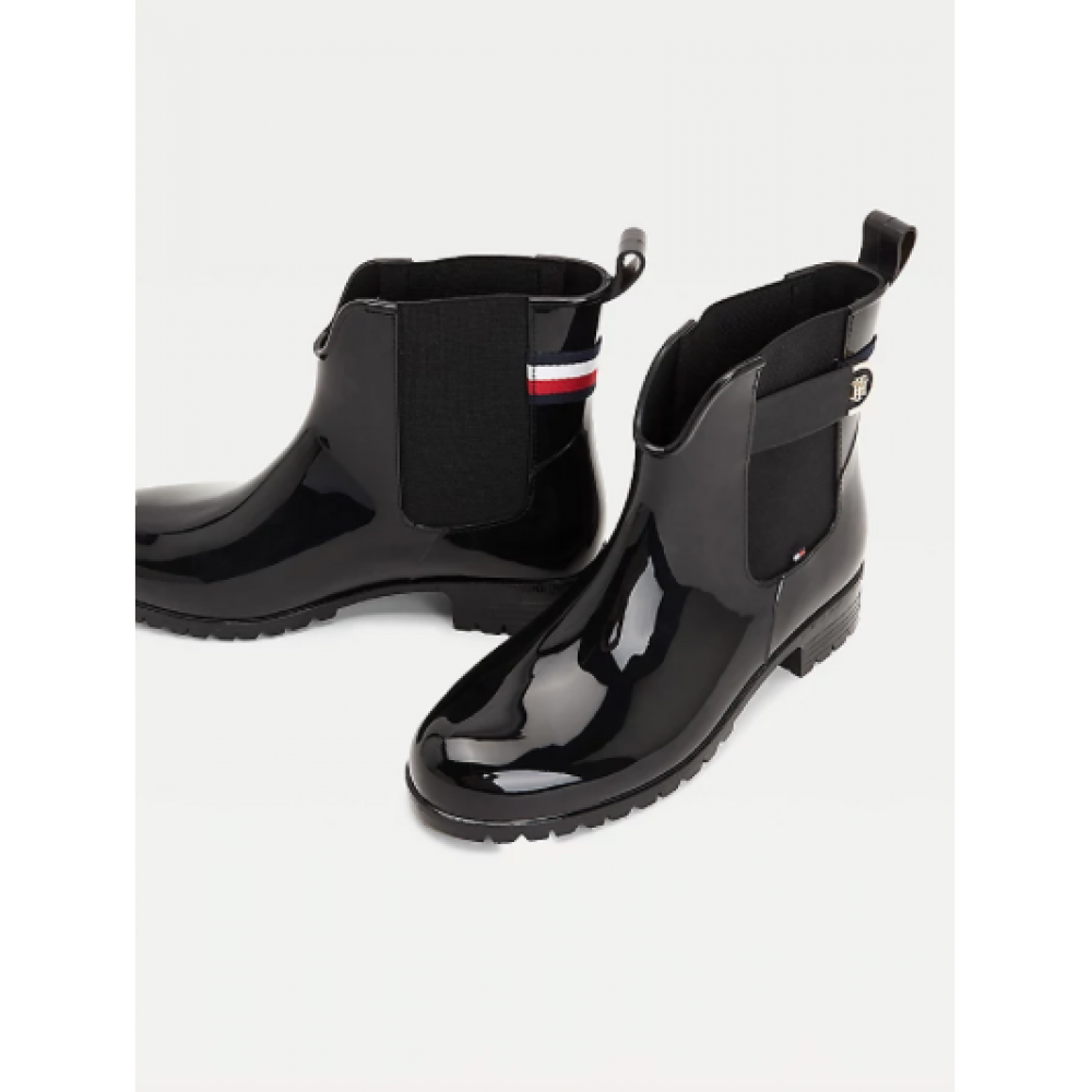 TH hardware rainboot - black