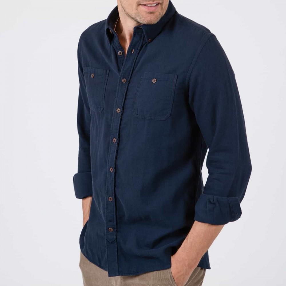 Docksides Indigo shirt - indigo old