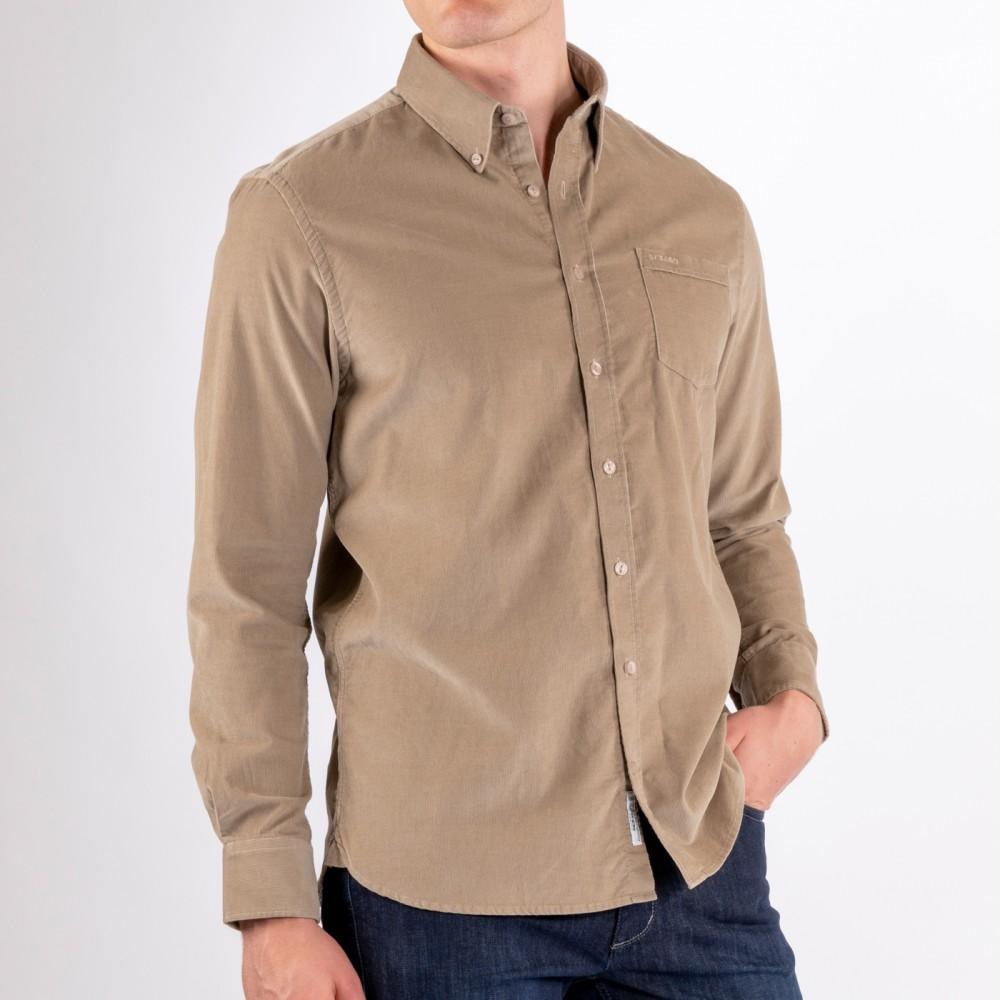Sebago Cord Pocket Shirt Greige
