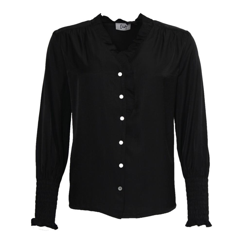 Konnie blouse - sort