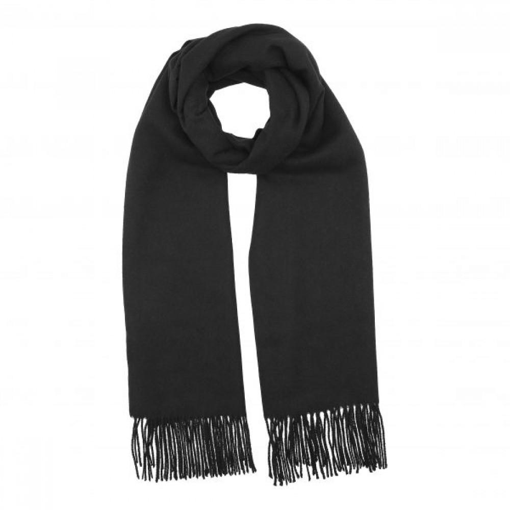 Cozy classic scarf, black