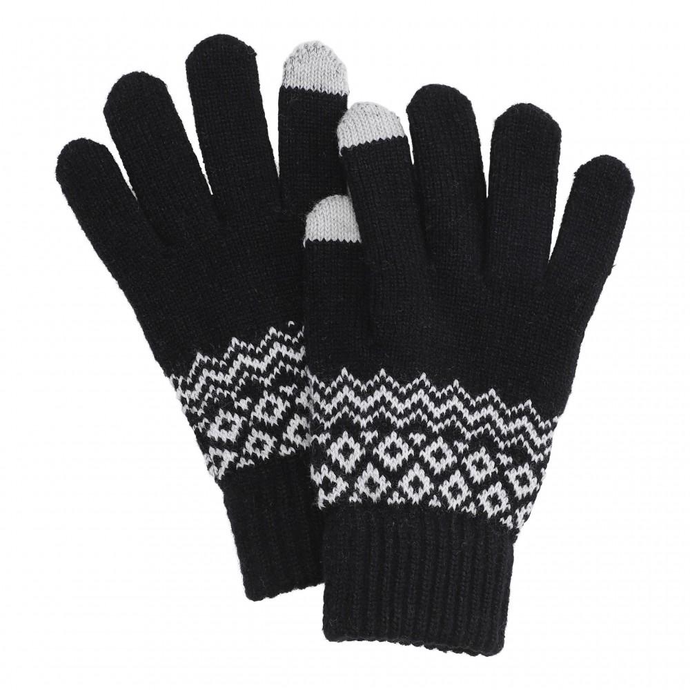 Hygge smartphone gloves, black