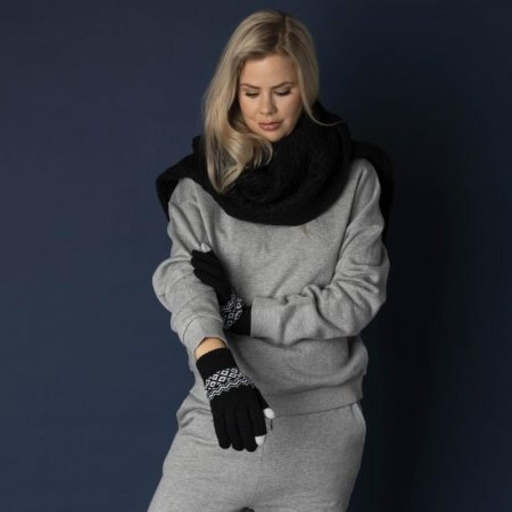 Hygge smartphone gloves, black-02