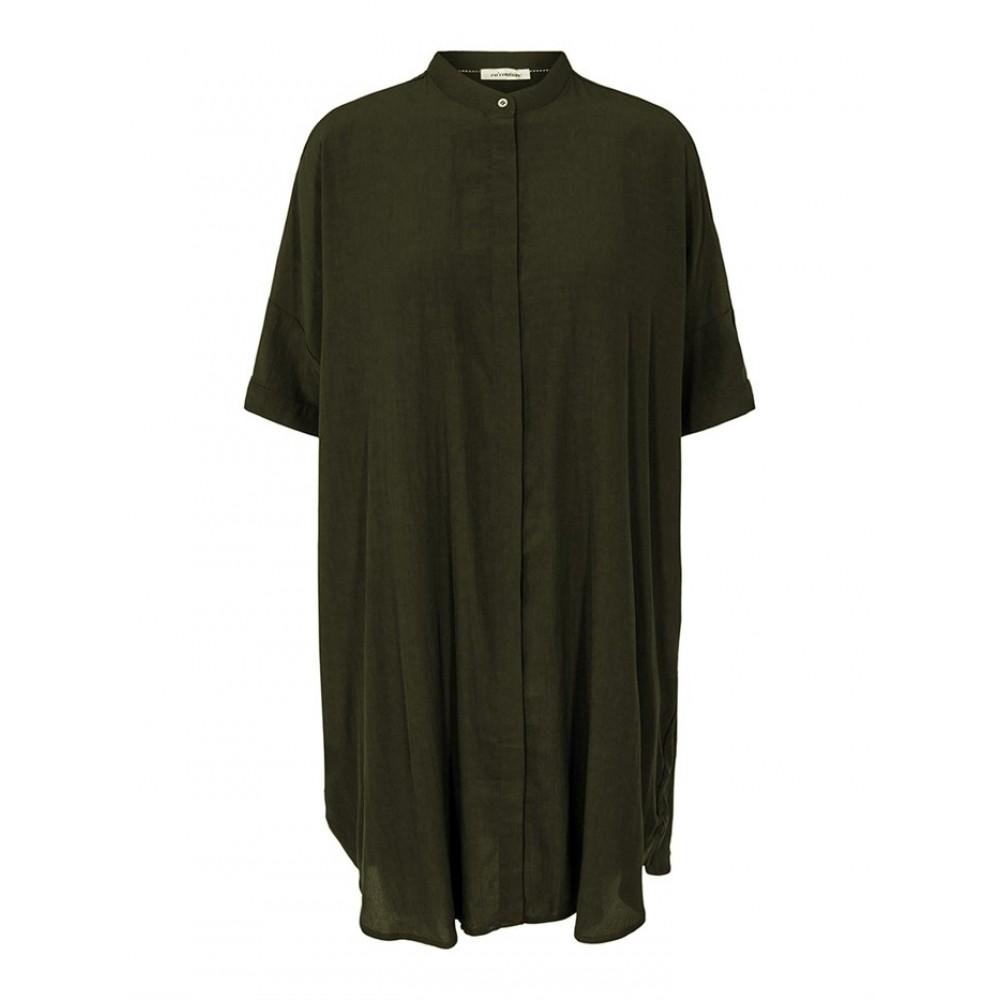 Sunrise Tunic Shirt, Dark Army
