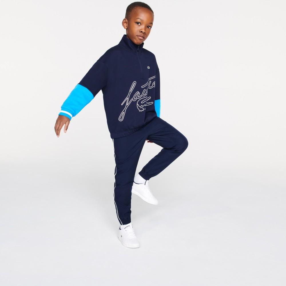 BoysZipNeckPrintBicolourFleeceSweatshirt-01