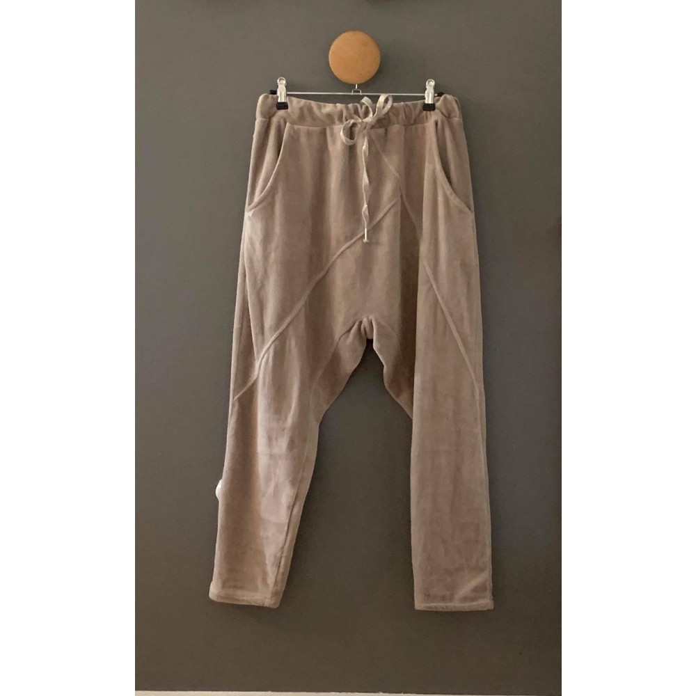 Baggy pant - taupe