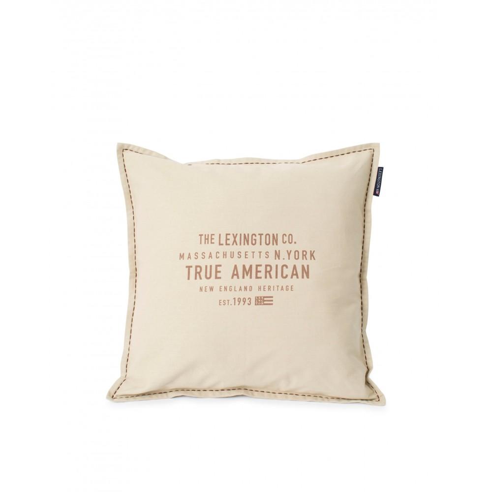 True American - pillow cover