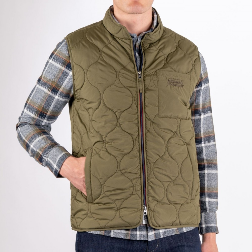 Docksides Quilted Vest, utility green