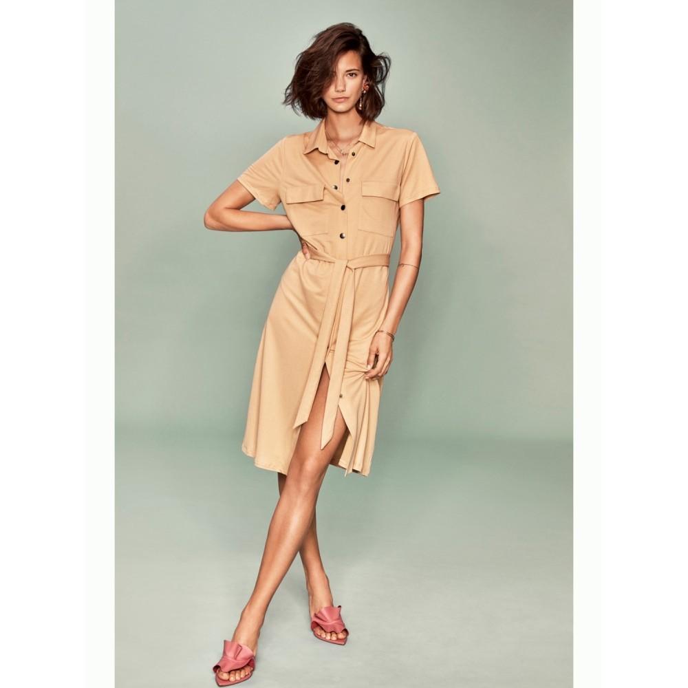 Visafina s/s shirt dress