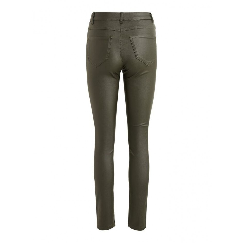 Coated Skinny Fit Jeans, Forest Night-01