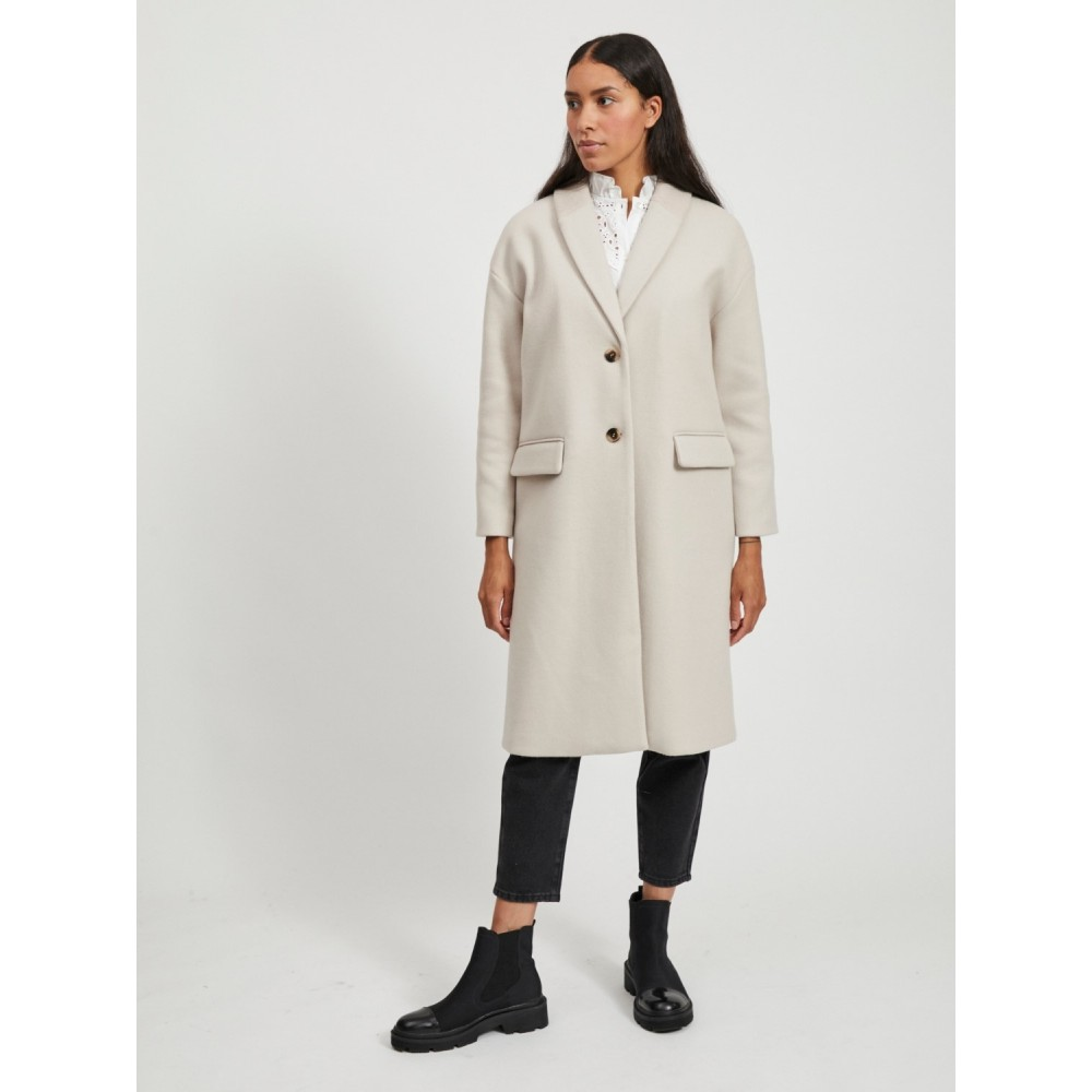 Vicallee Wool Coat/SU/DES, Cream