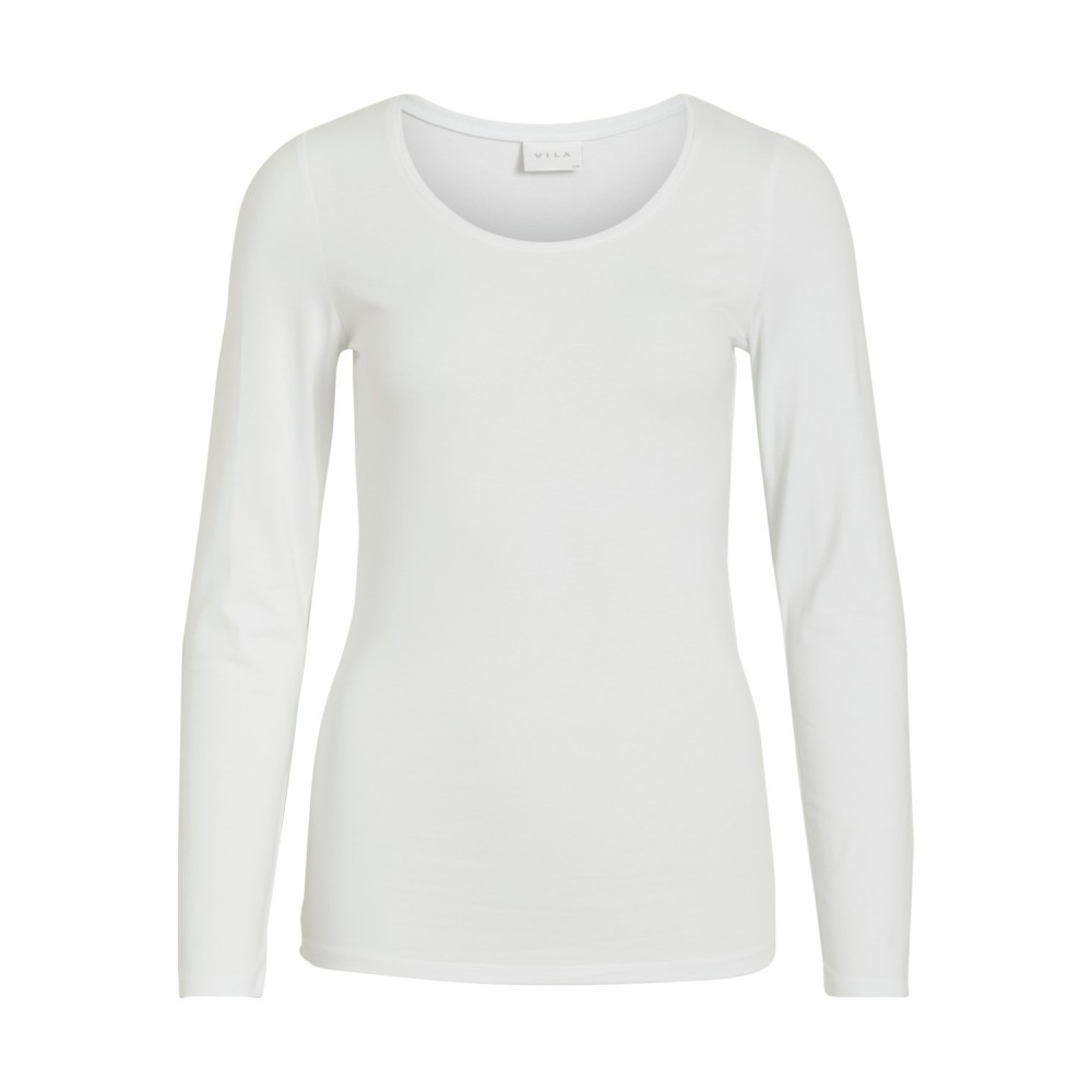 VIOFFICIEL NEW L/S TOP - NOOS WHITE