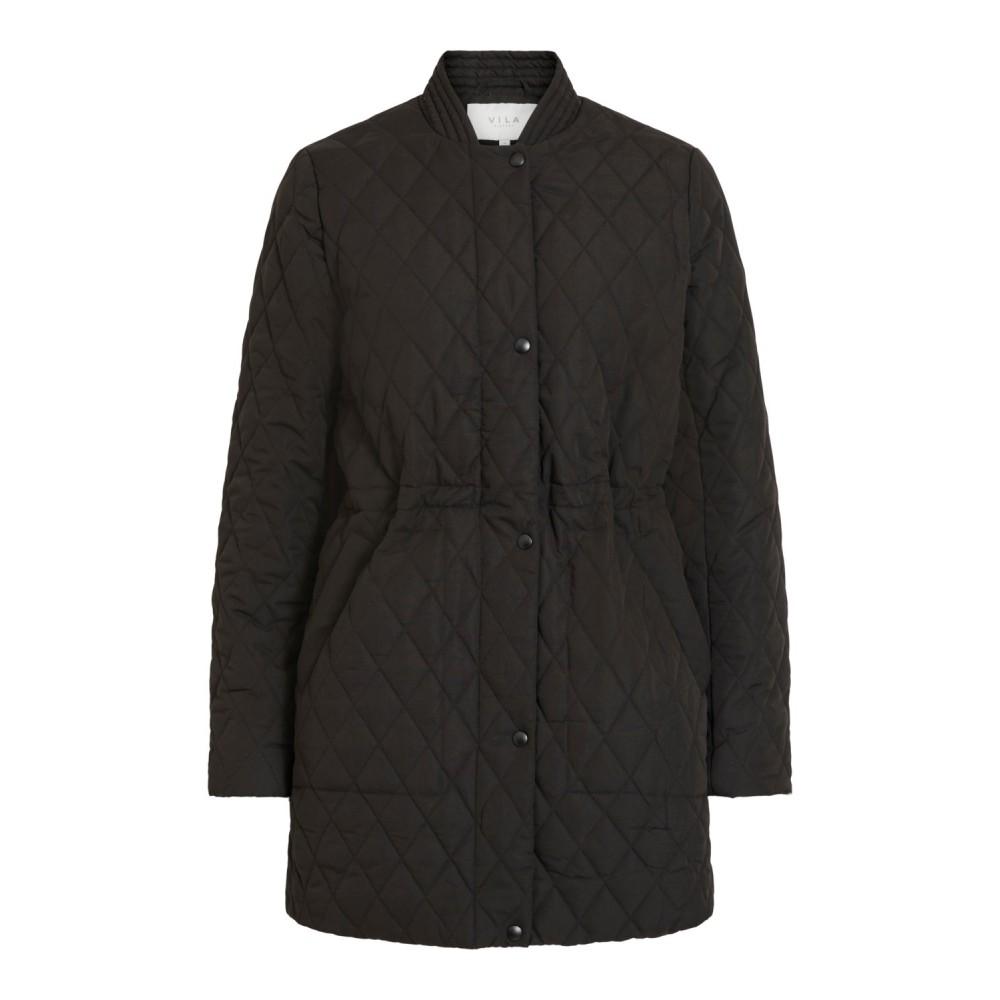 Vijaxie Quilted Jacket, black