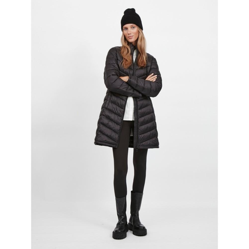 Visibiria new long jacket - black
