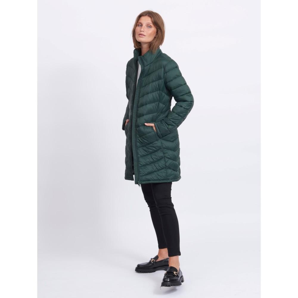 Visibiria new long jacket - darkest spruce