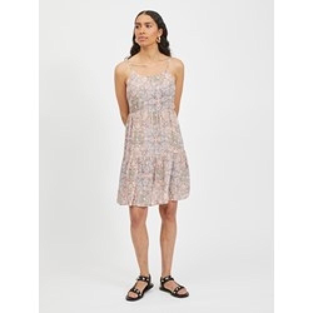 VIMESA STRAP SHORT DRESS