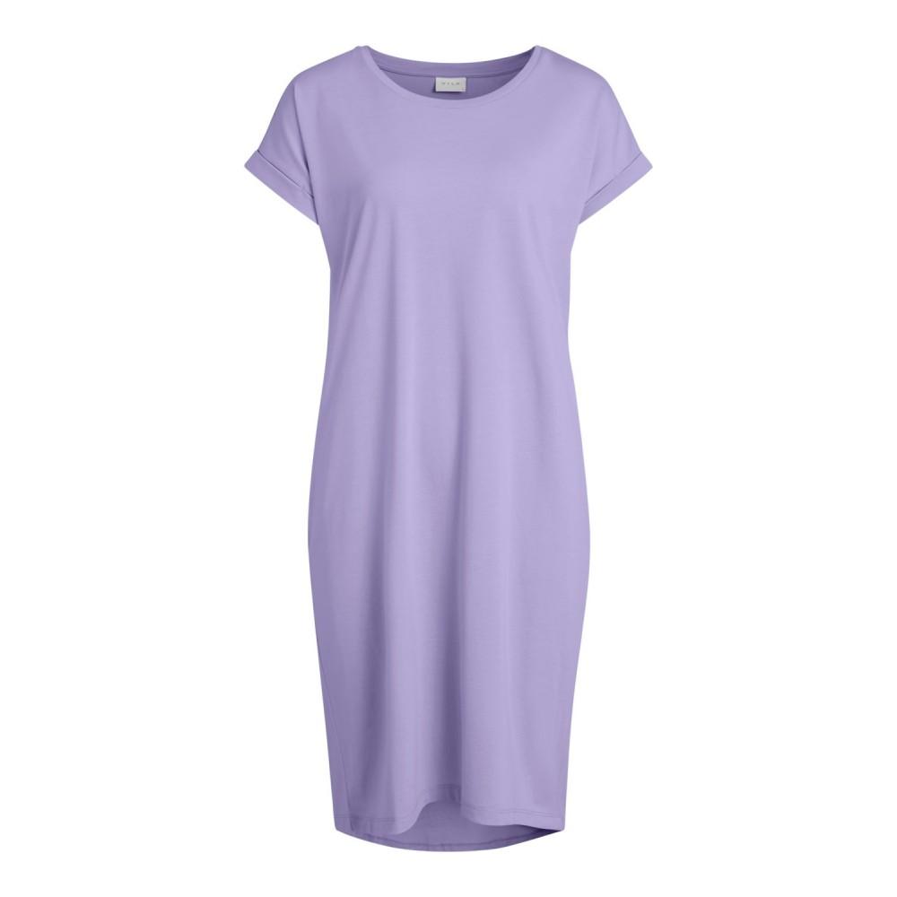 Vidreamers s/s knee dress - lavender