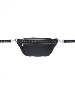 Astrid Stud Bum Bag Black-20