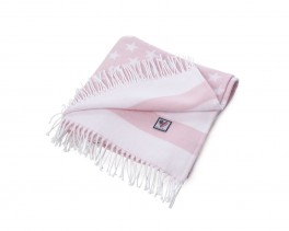 Baby Flag Throw Pink-20