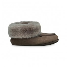 Womens Woollies Suede Classico, stone-20