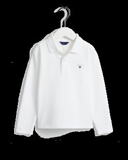 The Original Pique LS Rugger polo, white-20