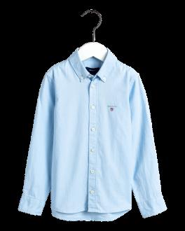 Archive Oxford B.D. Shirt, Capri Blue-20