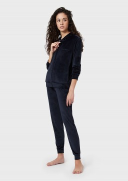 Woman Knitted Loungewear Tracksuit-20