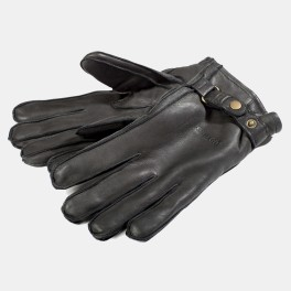 Deerskin Gloves Black-20