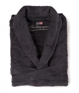 Lexington Original Bathrobe Charcoal-20