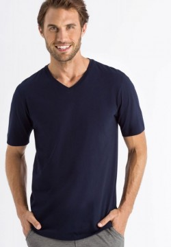 Short Sleeve V-Neck Shirt Living Shirts-20