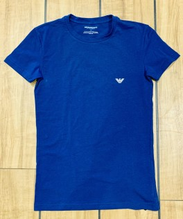 Crew Neck T-shirt S/Sleeve, bluelette-20