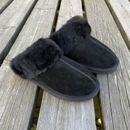 Women`s Woollies Slip On, Black-20