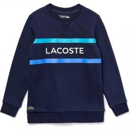 Lacoste Sweatshirt Bleu Marine/Turquoise-20